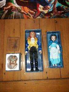 Deagostini porcelain dolls Disney Beauty and the Beast plus head
