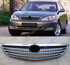 For TOYOTA CAMRY 2003-04 Plastic Front Bumper Middle Grille Grill Vent Hole Mesh