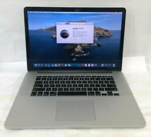 "Apple MacBook Pro 15"" A1398 (2013) Retina Q-Core i7 2.4 GHz 8 GB 250 GB Warranty"