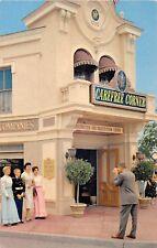 Disneyland postcard Disneyland Carefree Corner Information Center INA