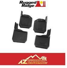 Rugged Ridge Splash Guard Kit For 07-18 Jeep Wrangler JK JKU 11642.10 Black