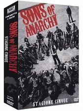 Sons Of Anarchy - Serie Tv - 5^ Stagione - Cofanetto Con 4 Dvd - Nuovo Sigillato