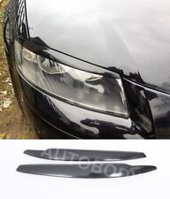 Fits AUDI A3 8P 8PA 2003-2008 Headlight Eyebrows Eyelids Covers