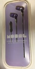 MODAL Stereo Headphones with Microphone MD-HPEBP1-P Purple/Gray