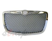 2005-2010 Chrysler 300 300C Mesh  Bentley Style Front Grill Grille Chrome