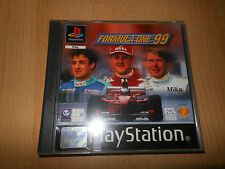 FORMULA ONE 99 - PlayStation1 ps1 PAL - Sony - PAL - MINT COLLECTORS