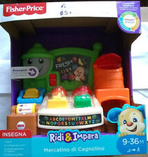 FISHER PRICE Laugh & Learn Fruits & Fun Learning Market ITALIAN Version