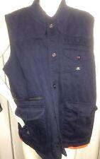 10 Deep The Tactical Vest Dark Blue Orange 3XL XXXL 100% cotton Navy