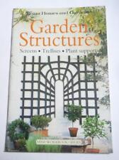 DIY Book GARDEN STRUCTURES Screen Trelises Better Homes Guide