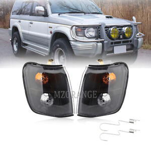 Corner Light Lamp LEFT+RIGHT PAIR For MITSUBISHI Pajero Montero 1992-1995 1996