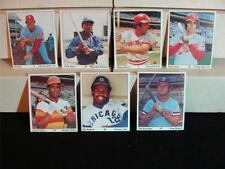 1975 SSPC with Puzzle on the Back Collection, 7 items - Aaron, Bench, Dent, Katt
