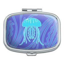 Cute Jellyfish Tentacles Ocean Rectangle Pill Case Trinket Gift Box
