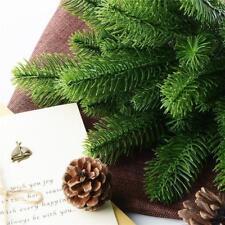 10Pcs Artificial Pine Branches Flower DIY False Plants Christmas Tree Decoration