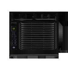 Home 5,000 BTU Window Air Conditioner W/ Remote Black AC Unit Cooler Wall New