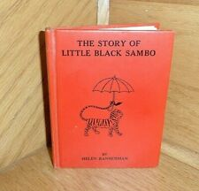 The Story Of Little Sambo by Helen Bannerman Only Authorized American Edition