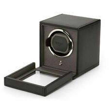 with Cover in Black Wolf Cub Single Watch Winder