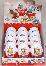 Kinder Joy Surprise Eggs and Toy Chocolate Cocoa Cream Wafers Candy 12 Count Box