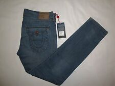 True Religion ROCCO Relaxed Skinny w/Flap Jeans NWT! 38Wx34L
