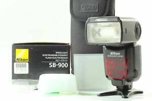[Almost MINT in Box] Nikon Speedlight SB-900 Shoe Mount Flash w/ film From JAPAN