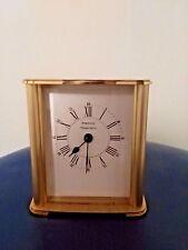Vintage Tiffany & Co Portfolio Table Top Clock Works Great