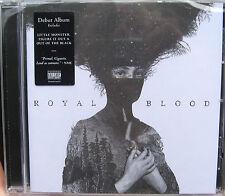 ROYAL BLOOD CD Royal Blood + PROMO Sheet Figure It Out SEALED