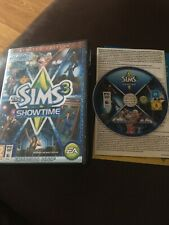 The Sims 3 Showtime Limited Edition Epansion Pack PC DVD-ROM MAC - Good
