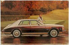 1981 Cadillac Seville Automobile Advertising Postcard