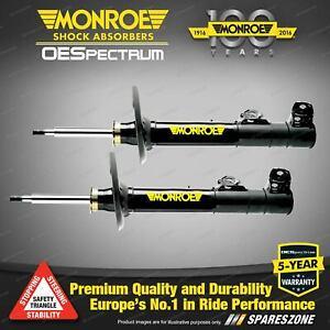 Front LH + RH Monroe OE Spectrum Shocks for SUBARU IMPREZA Gen III GE R RS RX
