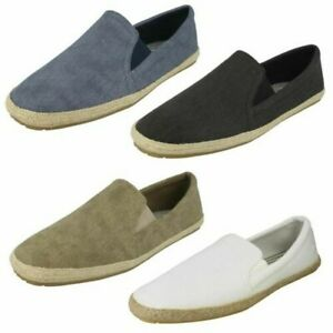 Maverick Canvas Mens Slip On Casual Shoes