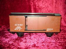 EZTEC SANTA FE BOX CAR Scientific Toys Train G Scale Gauge Garden Railroad New I