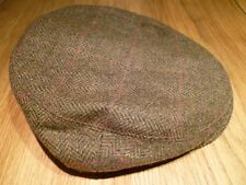 Barbour Gamefair Tweed Cap-Medium Olive - 7 1/8 - NEUF avec étiquettes