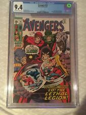 The Avengers #79 (Aug 1970, Marvel) Grade 9.4 Near Mint CGC Graded