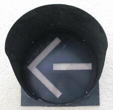 "12"" 3M Green Arrow Expander Traffic Signal Light Cap Visor"