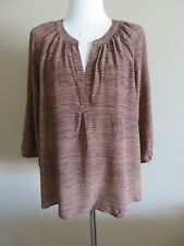 US Joie brown silk blouse, Size 10, AUS 10-12, pre loved