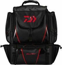 New Daiwa Systema Surf bag L (D) Black Separate Tackle Bag Large Top Flap