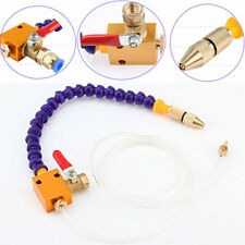 Bidirection Mist Coolant Lubrication Spray System For 8mm Air Pipe CNC Lathe USA