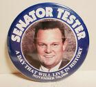 SENATOR JON TESTER PENNSYLVANIA US SENATE CAMPAIGN PINBACK BUTTON PIN 2006