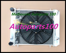 Alloy radiator &fan for Land Rover Defender & Discovery 300TDI 2.5TDI 1994-1999