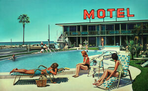 Steve ROSENDALE Thunderbird Motel - Large Signed Pigment Print, Pop Art, Vintage