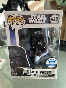 Funko Pop Star Wars Darth Vader In Fist Pose Shop Exclusive #428 Same Day Ship