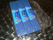 MAXELL Digital Betacam B-D12 3 Stück Professional Videotape NEU