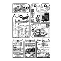 Family Life G32507 WM Father/'s Day Father and Daughter Rubber Stamp