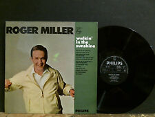 ROGER MILLER   Walkin' In The Sunshine  LP      NEAR-MINT !