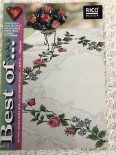 "Cross Stitch ""Flower Designs"" Booklet by Rico Design"