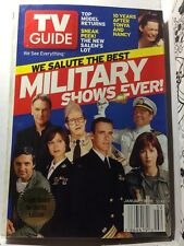 TV Guide Jan 10-16 2004 Salute The Best Military Shows Ever!