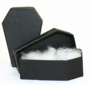 Coffin Jewelry Gift Box Gothic Halloween Horror Party Favor