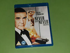 Never Say Never Again ~ Unofficial James Bond 007 (Blu-ray, 2013) Sean Connery