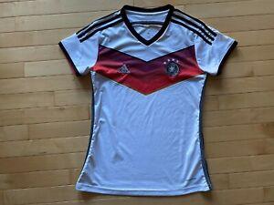 ADIDAS GERMANY Clima Cool SOCCER Jersey Fussball Bund Futbol Size M Womens