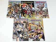 Lot 5 Mage Knight: Stolen Destiny Comic Books #1-5 Complete Series IDW 2002
