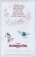 PHILLIP GLASSER Signed Fievel AN AMERICAN TAIL 11x17 Photo Autograph JSA COA